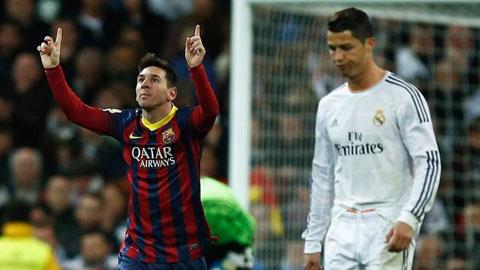 Những lợi thế của Messi trong cuộc đua QBV FIFA 2014 với Ronaldo