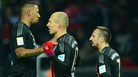 Tường thuật vòng 13 Bundesliga: Ngày hội đại gia