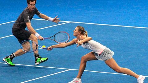 IPTL tại Manila: Murray và Sharapova – cặp đôi không hoàn hảo