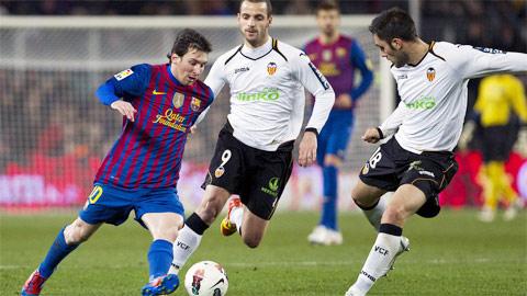 03h00 ngày 1/12, Valencia vs Barcelona: Hụt bước ở