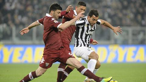 0h00 ngày 1/12: Juventus vs Torino: Derby vô vọng