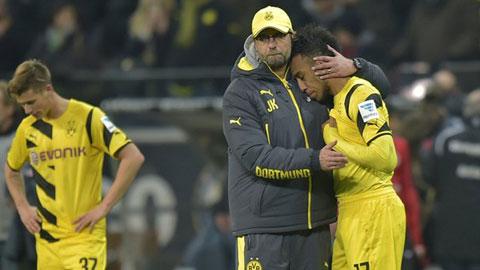 Thua Frankfurt 0-2, Dortmund rơi xuống đáy BXH