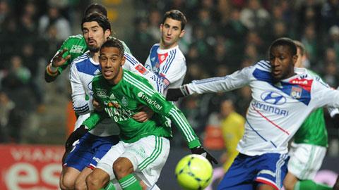 Saint Etienne 3-0 Lyon:
