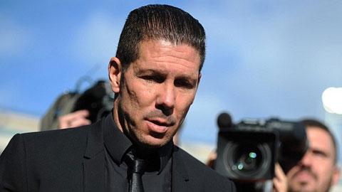 HLV Simeone úp mở chuyện rời Atletico Madrid