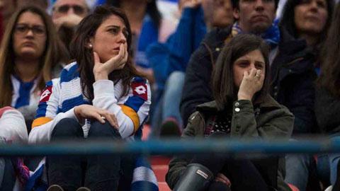Cảnh sát và bóng đá Tây Ban Nha bị