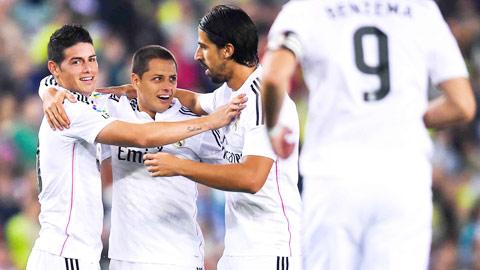 02h00 ngày 3/12, Real Madrid vs Cornella: Khi Chicharito sắm vai Ronaldo!