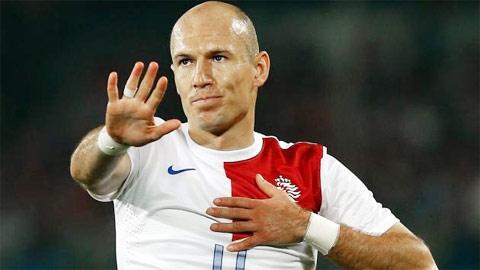 Quả bóng Vàng FIFA 2014: Robben, kẻ bị lãng quên!