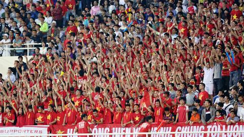 NHM luôn đồng hành cổ vũ nhiệt tình cho ĐT Việt Nam