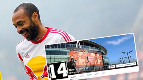 Thierry Henry chia tay New York Red Bulls, hướng về Arsenal