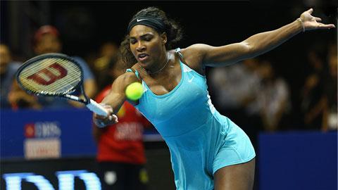"""IPTL tại Singapore: Dù cặp với """"phi công trẻ"""", Serena Williams vẫn không """"lên đỉnh"""" được"""