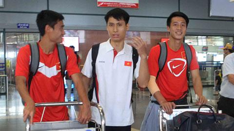Chiều nay, ĐT Việt Nam lên đường sang Malaysia