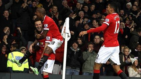Không Rooney, tháng 12 vẫn tươi đẹp với M.U