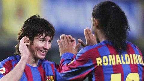 """Ro """"vẩu"""" tâng bốc Messi, hạ thấp Ro """"điệu"""""""