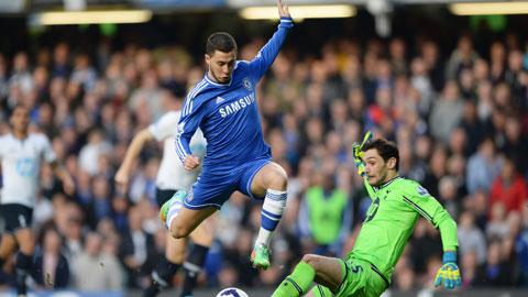Chelsea (trái) sẽ tìm lại cảm giác chiến thắng bằng màn hạ gục Tottenham