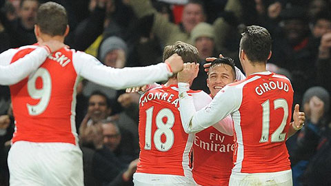 """Thống kê bàn thắng sau phút 85 ở Premier League: Arsenal """"vô đối"""""""
