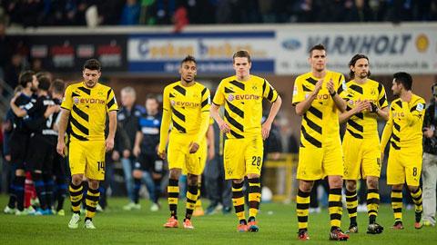 Vì sao hàng loạt đội bóng lớn ở Bundesliga xuống dốc không phanh?
