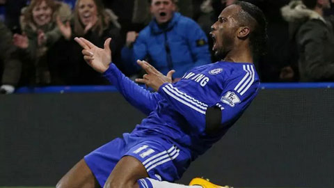 Drogba chính là phương án dự phòng hoàn hảo của Chelsea