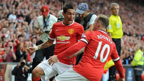 M.U: Rooney chắc chắn trở lại, Di Maria tiếp tục vắng mặt