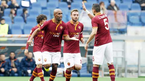 0h00 ngày 7/12, Roma vs Sassuolo: Bước đệm trước tử chiến