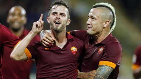 """Nainggolan - Pjanic, """"động cơ"""" của Roma!"""