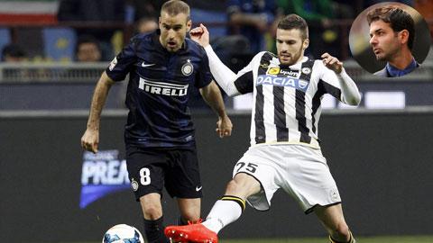 """02h45 ngày 8/12, Inter vs Udinese: Chờ """"quà"""" của Strama!"""