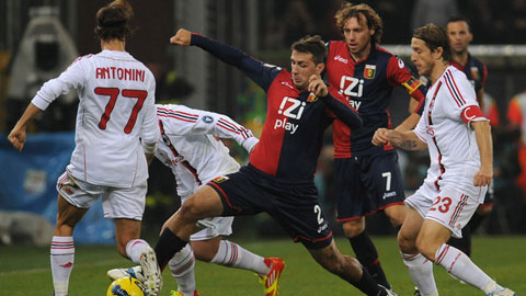 21h00 ngày 7/12, Genoa vs AC Milan: Khó vượt ải Marassi