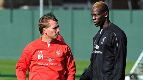 Rodgers sắp tống khứ Balotelli khỏi Liverpool