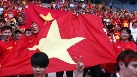 """Đêm qua, hai tiếng """"Việt Nam"""" đã vang lên tại Shah Alam một cách hùng tráng và kiêu hãnh."""