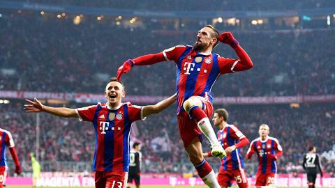 Franck Ribery: Ngôi đền 100 và hơn thế nữa