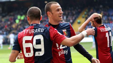 Genoa 1-0 Milan: Thắng Milan, Genoa vào Top 3