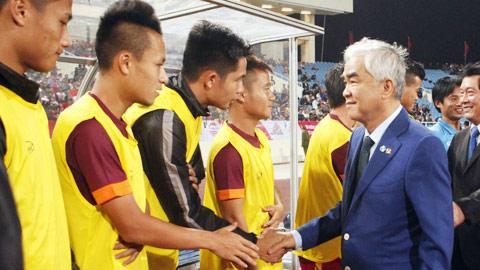 Chủ tịch VFF Lê Hùng Dũng: