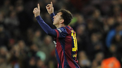 Messi khẳng định đẳng cấp với một cú hat-trick ở trận đấu với Espanyol