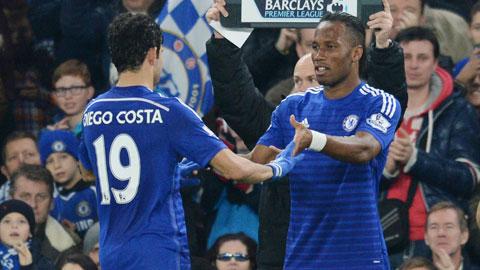 Chelsea: Nhạt nhòa hiệu ứng Costa