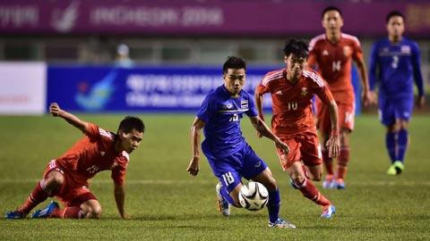 """""""Messi Thái Lan"""" sẽ đá tiền đạo trong trận bán kết lượt về gặp Philippines"""