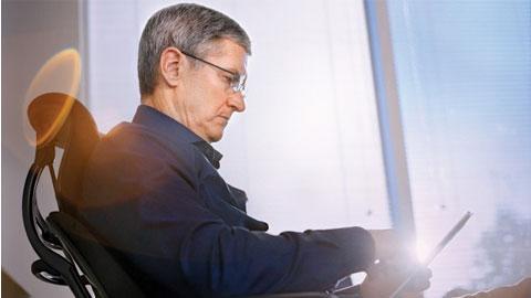 """CEO của Apple lần thứ 2 được đề cử giải """"Nhân vật của năm"""""""