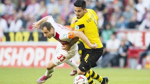 Dortmund: Niềm tin trên vai Guendogan
