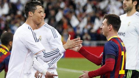Ronaldo có nhiều hat-trick hơn do được đá penalty nhiều hơn Messi