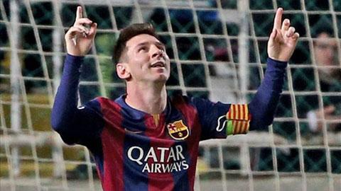 Lập hat-trick, Messi bị kiểm tra doping đột xuất
