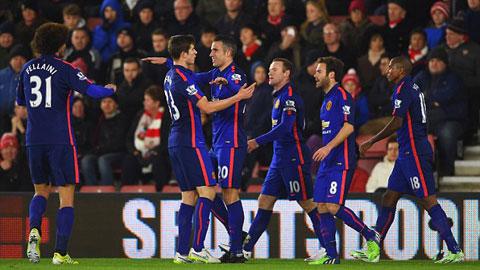 Đánh bại Southampton, M.U lập kỷ lục... buồn