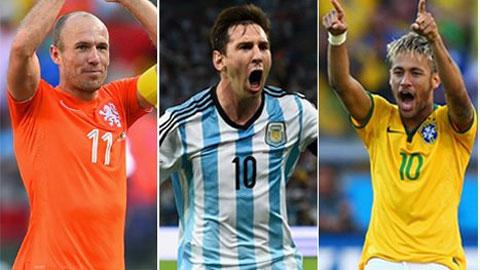 10 cầu thủ có tốc độ cao nhất thế giới