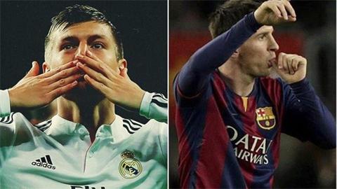 Kroos vs Messi: Hai chuyên gia vẽ kiệt tác