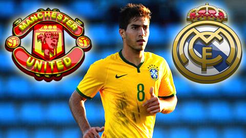 M.U giành giật Lucas Silva với Real