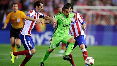 Những điểm nhấn ở trận Juventus vs Atletico Madrid