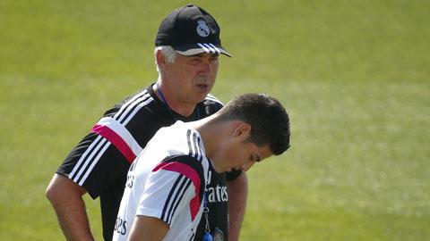 Rodriguez và Khedira chấn thương: Ancelotti sẽ biến tấu hàng tiền vệ Real