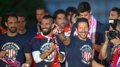Atletico Madrid: Simeone dọn đường về Man City