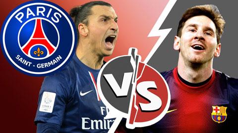 Zlatan Ibrahimovic vs Lionel Messi: Hận cũ, thù mới