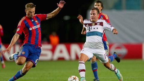 02h45 ngày 11/12, Bayern vs CSKA Moscow: Lực bất tòng tâm