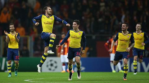 Ramsey tạo siêu phẩm đẹp nhất Champions League 2014/15?