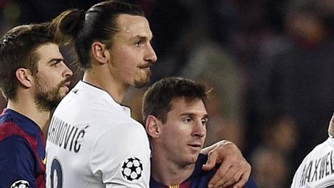 Ibra đập tan tin đồn hiếm khích với Messi
