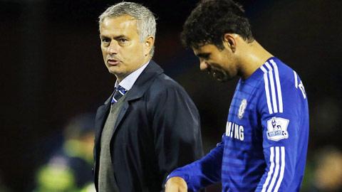 HLV Mourinho vẫn chưa thể tìm ra cách giúp Costa lấy lại phong độ